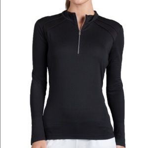 TAIL Golf Black Long Sleeve Size S